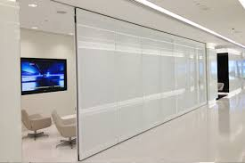 Glass Wall Design by Moveable Double Glazed Glass Wall Avanti Systems Usa