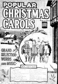 popular christmas carols various imslp petrucci music library