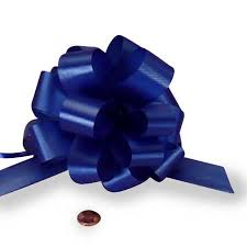 pull bows 5 inch large poly pull bows 50 count royal blue the lucky