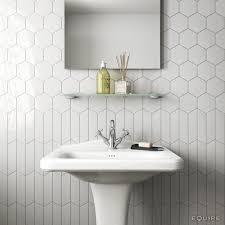 bathroom tile styles ideas chevron wall white 18 6x5 2 scale hexagon white 12 4x10 7