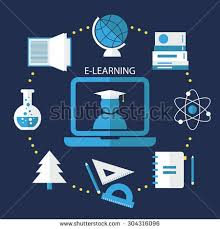 design online education elearning online education flat design concept stock vector