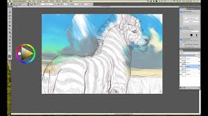 intuos art rough drawing in corel painter essentials with aaron