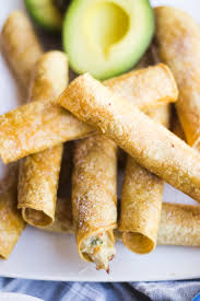 baked creamy chicken taquitos oh so delicioso