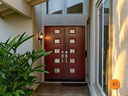 Front Doors For Home Contemporary Glass Entry Doors Double Entry Doors For Home Having