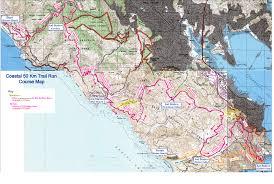 Tcc Map Coastal 50k Marathon Trail Run