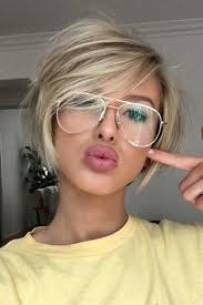short hairstyles with glasses and bangs 15 spicy hairstyles for short hair to try bob hairstyle bangs and