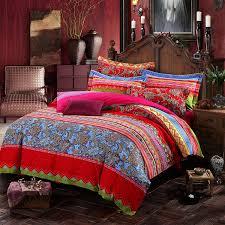 amazon com lelva boho style bedding set bohemian ethnic style