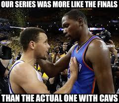 Nba Finals Memes - rt nbamemes warriors vs thunder was the real nbafinals http
