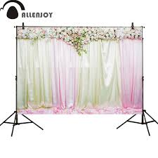 Curtains Wedding Decoration Aliexpress Com Buy Allenjoy Photography Backdrop Wedding