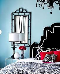 Bedroom Designs In Blue Hues Home Design Lover - Blue and black bedroom designs
