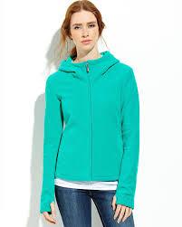 bench jade green zip up fleece hoodie in green lyst