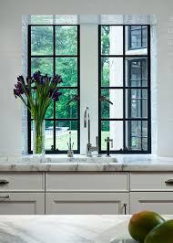 Kitchen Windows Design by A Kitchen Look We Love Black Marble Steel Doors Steel