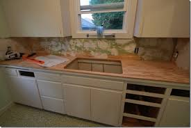 Countertops For Kitchen Remodelaholic Affordable Stainless Steel Countertops Diy