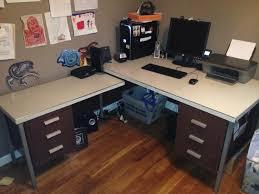 Metal Desk Vintage Vintage Metal L Shaped Desk For Sale Ringwood