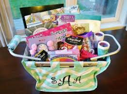 ideas for easter baskets for adults easter basket gift idea personalized mini market tote review