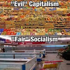 Convenience Store Meme - meme brilliantly compares evil capitalism vs fair socialism