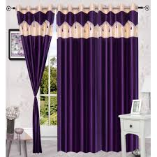 home deco vatika 2 pc polyester eyelet door curtains curtains