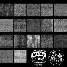 reverse print shirt textures thevectorlab