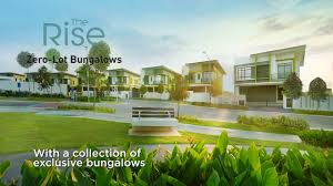 the rise 0 lot boutique bungalow emerald rawang youtube