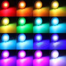 e27 9w ir remote 16 color change rgb led bulbs 85