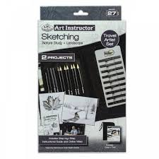 sketching nature study u0026 landscape art instructor art supplies