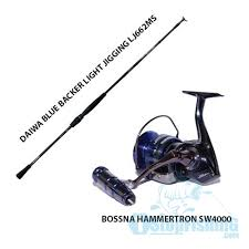 bossna daiwa spinnng combo set international deluxe set