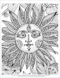 cool coloring pages adults free spring flower coloring pages rkomitet org
