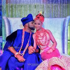 Traditional Wedding Look Baad2017 Adesua Etomi Banky W S Traditional