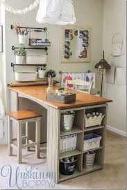 scrapbooking cabinets and workstations scrapbook desk ikea project in craft room 5 thumb updating and