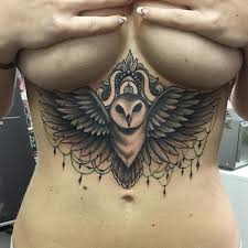 80 breast tattoos that will emphasize your assets