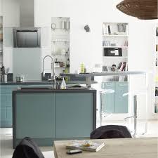 cuisines delinia meuble de cuisine delinia composition type bleu ciel