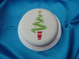 Small Christmas Tree Cake Decorations by Christmas Tree Mini Christmas Cake Blueberry Cakes