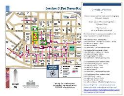 Map Of St Paul Mn St Paul Skyway Map Best Of St Paul Skyway Map U2013 Swimnova