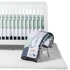 Jojo Crib Bedding Sweet Jojo Designs Crib Bedding Set Navy Mint Woodsy 11pc