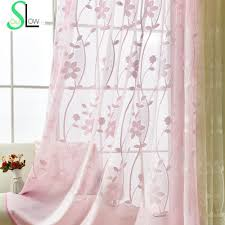 Pink Powder Room Compare Prices On Pink Lace Curtains Online Shopping Buy Low