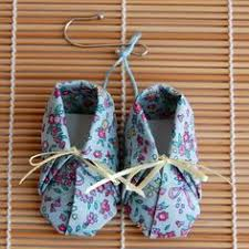 baby bootie ornament napkin folding from napkins babies and baby booties
