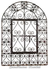 Moorish Design by Amazon Com The Wrought Iron Window With Doors Home U0026 Kitchen