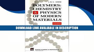 read books polymers chemistry and physics of modern materials by