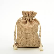 small burlap bags party favor jewelry packaging bags christmas party burlap jute