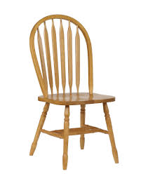 Light Dining Chairs Sunset Trading 38 Arrowback Dining Chair In Light Oak Sunset