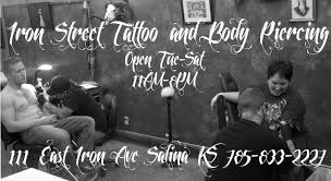 iron street tattoo and body piercing tattoo 111 e iron ave