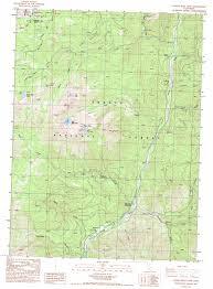 Bear Lake Utah Map by Tangle Blue Lake Topographic Map Ca Usgs Topo Quad 41122b6