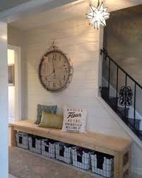 Basement Entryway Ideas Diy 25 Farmhouse Bench Free Plans And Video Tutorial To Build