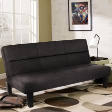 Foldable Chair Bed by Best Choice Products Microfiber Futon Folding Couch Sofa Black