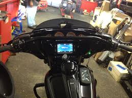 our new drag bars for the 2014 harley street glides on a customers