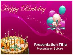 powerpoint birthday invitation template powerpoint presentation