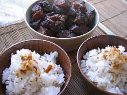 cuisiner avec un rice cooker porc et daikon caramélisés cuits au rice cooker des goûts et des