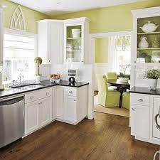 Kitchen Paint Color Ideas With White Cabinets Kitchen Paint Colors With White Cabinets L Shaped Brown Painted