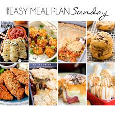 easy meal plan 17 eazy peazy mealz