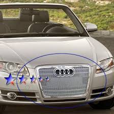 audi aftermarket grill audi a4 custom grilles billet mesh cnc led chrome black